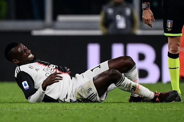 Blaise Matuidi hurt his ribs in Juventus' 1-0 win over AC Milan (AFP Photo/Marco Bertorello)