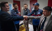 <p>are all nominated for outstanding supporting actor in a comedy series for <em>Ted Lasso</em>. </p>