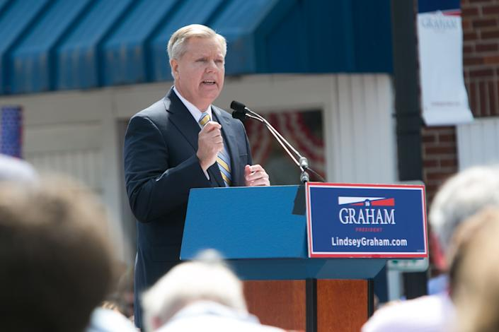 Graham dropped out of the race on Dec. 21, 2015.