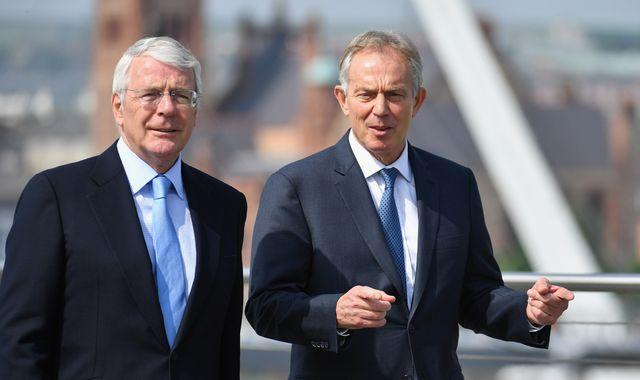 Brexit: Blair and Major accuse Johnson of 'shaming' the UK with Internal Market Bill