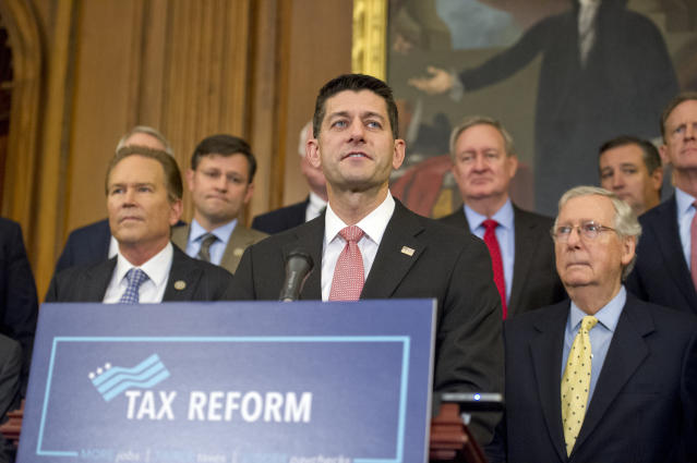 The $4.1 trillion plan is a critical step in the drive to rewrite the tax code