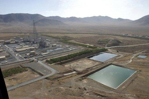 The UN inspectors were visiting a heavy water facility