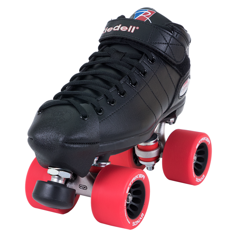 """<p>riedellskates.com</p><p><strong>$155.00</strong></p><p><a href=""""https://www.roller.riedellskates.com/catalog/roller-skate-sets/derby-skate-sets/set-r3-r3derby"""" rel=""""nofollow noopener"""" target=""""_blank"""" data-ylk=""""slk:Shop Now"""" class=""""link rapid-noclick-resp"""">Shop Now</a></p><p>""""I highly recommend Riedell R3's for beginners. It's a good starter skate not only to learn in, but also to grow and develop without breaking the budget. The movability is decent in comparison to big store brands. Boots are quite comfy. You also have to ability to make minor adjustments in your trucks which is important for skating comfortability."""" — <em><a href=""""https://www.instagram.com/ahsinity/"""" rel=""""nofollow noopener"""" target=""""_blank"""" data-ylk=""""slk:Tinisha Bonaby"""" class=""""link rapid-noclick-resp"""">Tinisha Bonaby</a>, a.k.a. Freight Train, skate instructor</em></p>"""