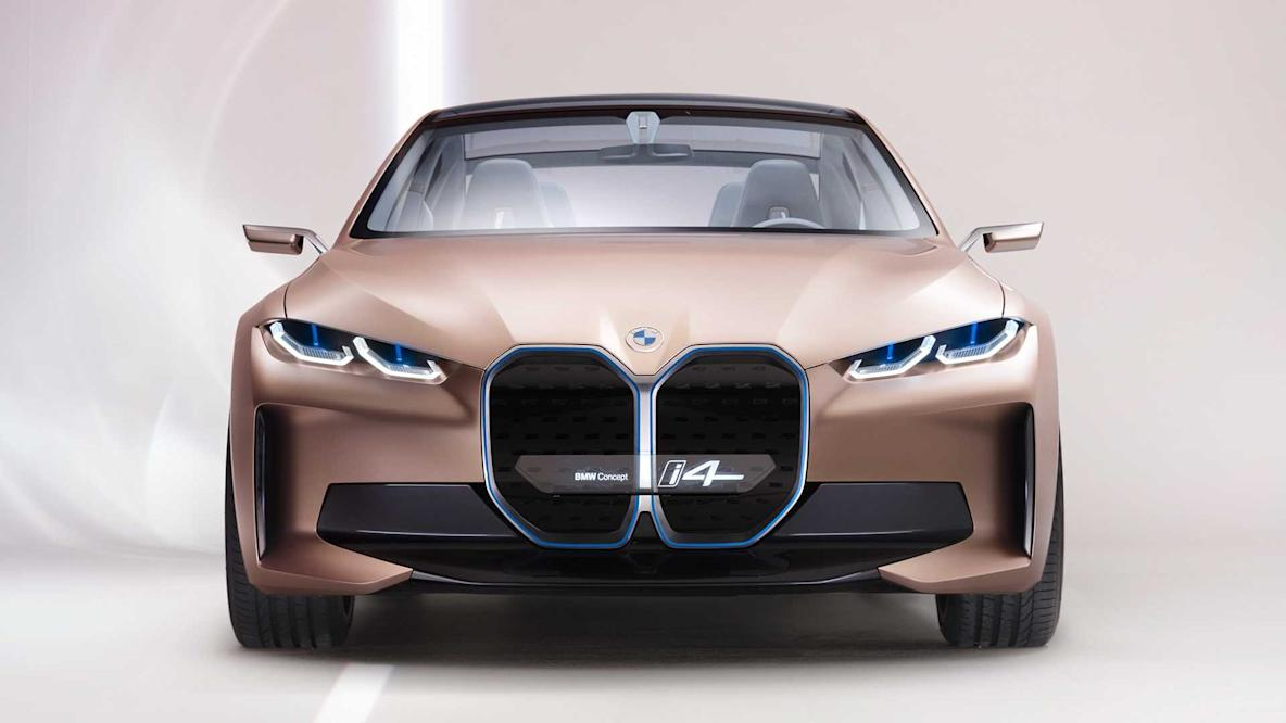 Bmw Concept I4 Interesting Details Shown In Supercar Blondie Video