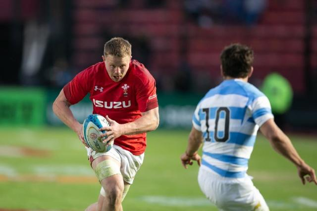 Josh Adams was one of the Wales try scorers in a victory in Argentina that concluded a succesful summer tour. (AFP Photo/Juan José Gasparini)