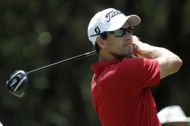 Adam Scott, the most eligible bachelor on the PGA Tour, is officially off the market