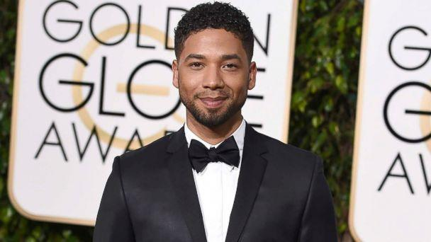 PHOTO: In this Jan. 10, 2016 file photo, actor and singer Jussie Smollett arrives at the 73rd annual Golden Globe Awards in Beverly Hills, Calif.  (Jordan Strauss/Invision/AP)