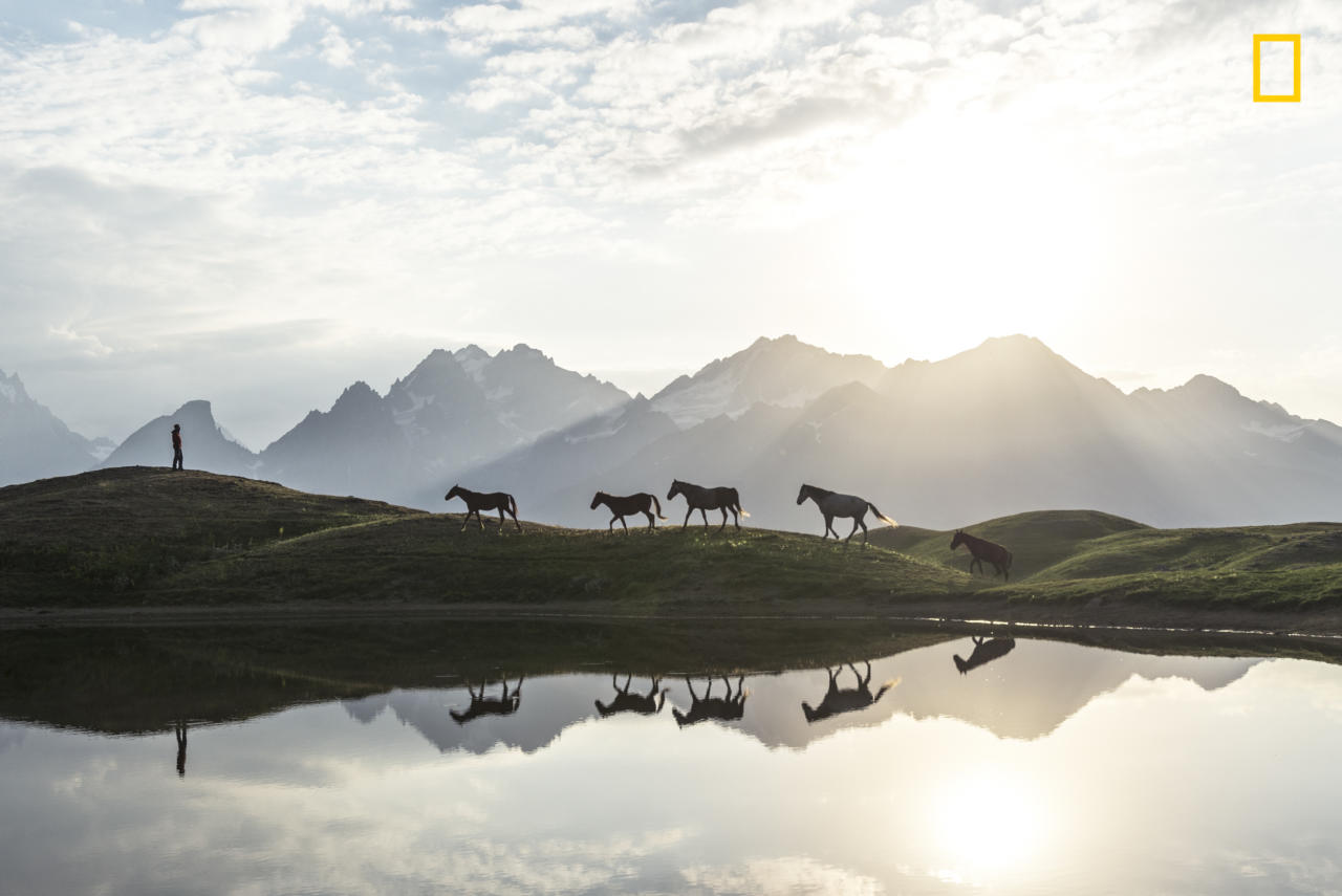 """<p>""""Morning at Koruldi Lakes in Georgia (country)."""" (<a rel=""""nofollow"""" href=""""http://yourshot.nationalgeographic.com/profile/1512900/"""">Witold Ziomek</a> / National Geographic Nature Photographer of the Year contest) </p>"""
