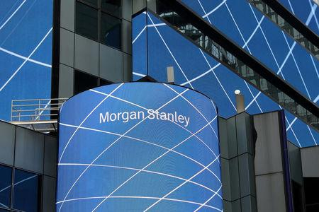 Morgan Stanley Reports Higher Revenue