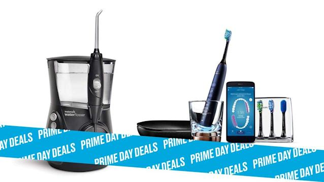 Photo Illustration by Elizabeth Brockway/The Daily Beast * Up to 59% off on Sonicare and Waterpik appliances. * Choose from 12 electric flossers and toothbrushes, all designed to make warding off cavities that much easier. Read more about its features here. * Shop the rest of our other Prime Day deal picks here. Not a Prime member yet? Sign up here.The thing about brushing our teeth is that we rarely have the energy to do so when we wake up and need to go to bed. Thankfully, Sonicare and Waterpik just dropped major deals on their line of electric flossers and rechargeable toothbrushes that provide a gentle, deep clean. Thanks to that squeaky-clean feeling, you might actually look forward to brushing your teeth—and dare we say it, your next dentist appointment.   Get it on Amazon > Let Scouted guide you to the best Prime Day deals. Shop Here >Scouted is internet shopping with a pulse. Follow us on Twitter and sign up for our newsletter for even more recommendations and exclusive content. Please note that if you buy something featured in one of our posts, The Daily Beast may collect a share of sales.Read more at The Daily Beast.Get our top stories in your inbox every day. Sign up now!Daily Beast Membership: Beast Inside goes deeper on the stories that matter to you. Learn more.