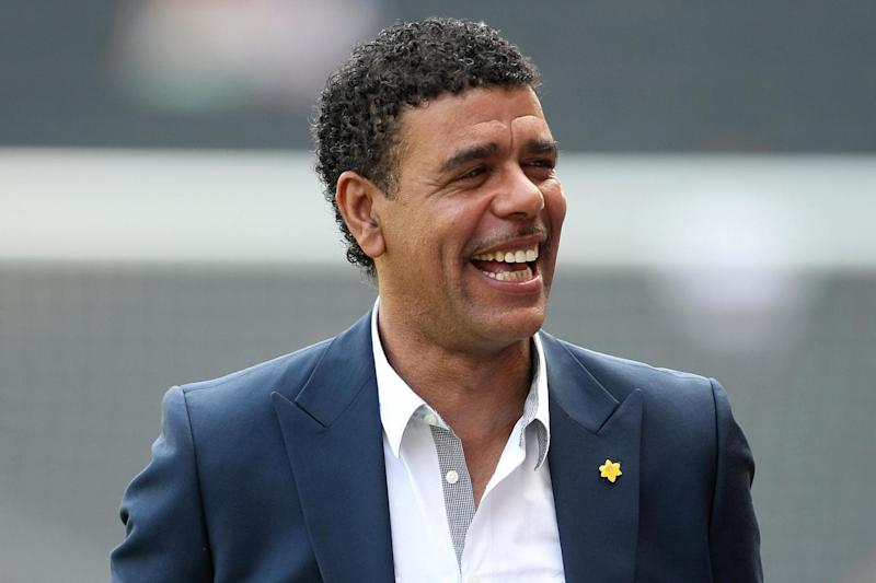 Football pundit Chris Kamara