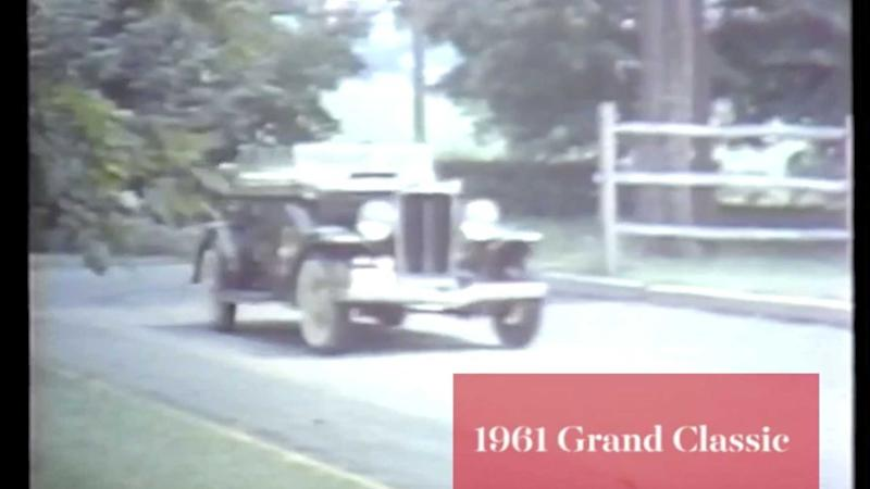 Vintage Video Tour Of The CCCA Grand Classic From 1961
