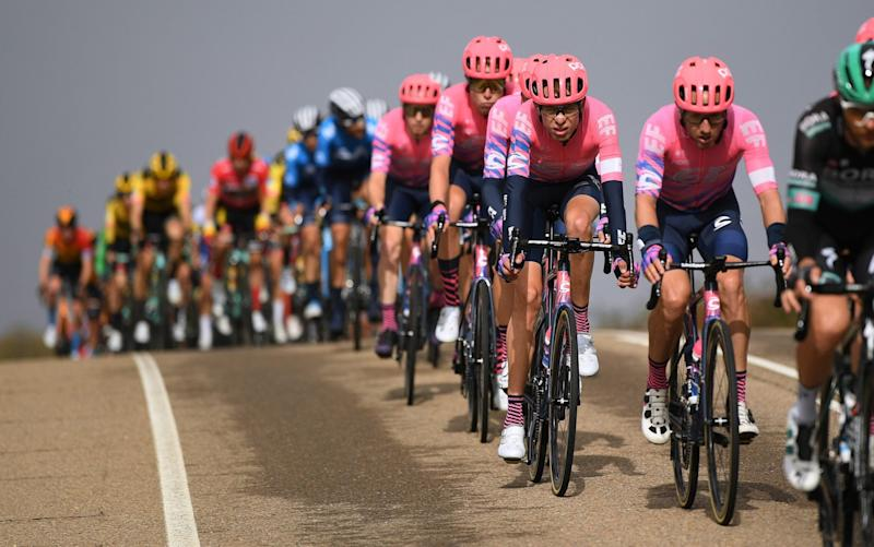 Hugh Carthy of The United Kingdom and Team EF Pro Cycling / during the 75th Tour of Spain - GETTY IMAGES