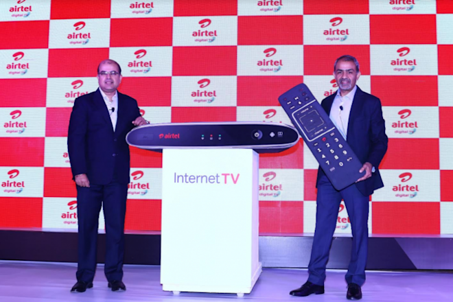 Airtel Internet TV, Google Chromecast, Netflix, YouTube