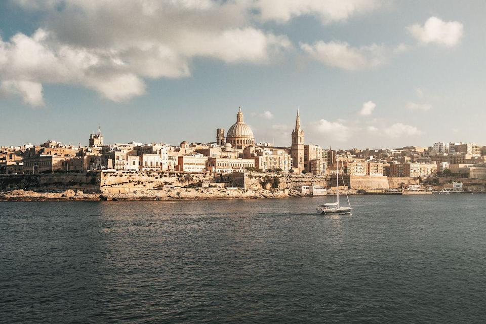 <p>The capital city of Malta, Valletta, is right at the edge of the largest island. Awash in a sea of white, the walled city dates back to the 1500s. Now you won't have to choose between unwinding on island time and touring Baroque landmarks. History buffs and sun worshippers, say hello to your next vacation spot.</p>