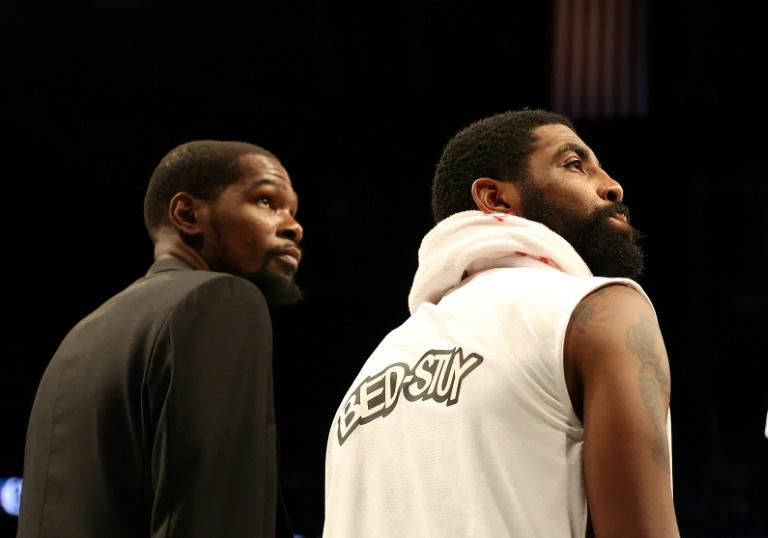 Kevin Durant and Kyrie Irving might recover from injuries in time to play for the Brooklyn Nets if NBA playoffs are delayed to later this year, but Nets general manager sean Marks says there's expectation of such a timetable
