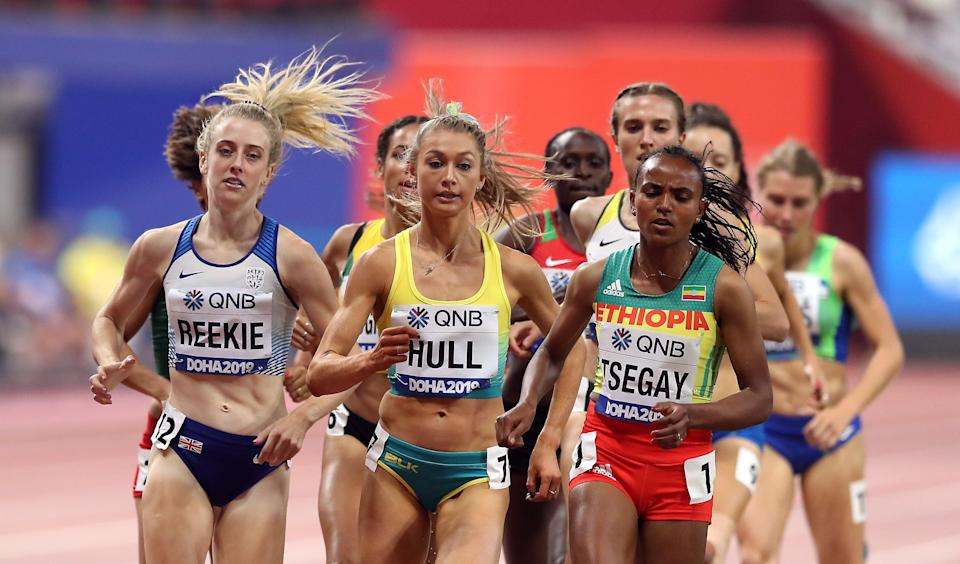 Reekie has studied Holmes' races as she looks to improve. (Martin Rickett/PA) (PA Archive)