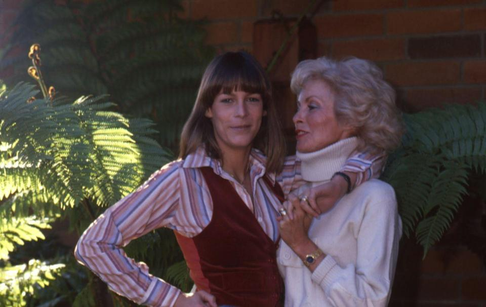 <p>After being discovered at the age of 18, Janet Leigh cemented herself in cinematic history with her appearance in the Alfred Hitchcock film <em>Psycho</em>. Leigh's daughter, Jamie Lee Curtis, would later take after her mother as a scream queen with appearances in horror classics like <em>Halloween </em>and <em>The Fog.</em></p>