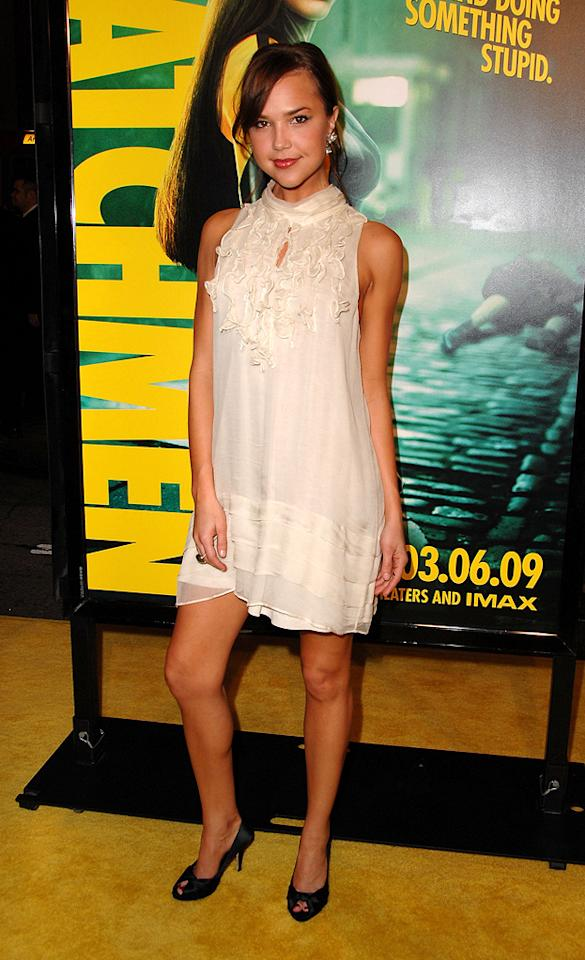 "<a href=""http://movies.yahoo.com/movie/contributor/1808521783"">Arielle Kebbel</a> at the Los Angeles premiere of <a href=""http://movies.yahoo.com/movie/1808406490/info"">Watchmen</a> - 03/02/2009"
