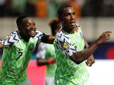 Africa Cup of Nations 2019: Odion Ighalo scores twice as Nigeria win five-goal thriller against Cameroon to reach quarter-finals