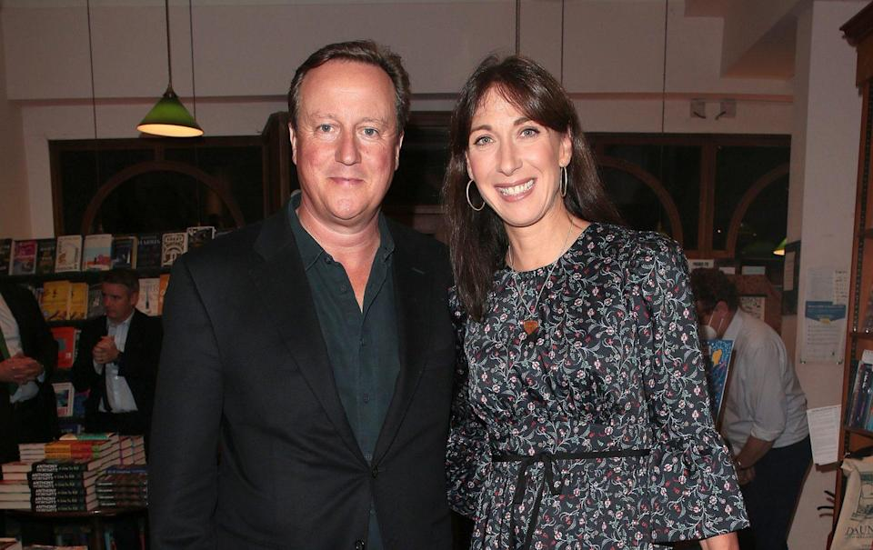 The former prime minister famously revealed that he and his wife Samantha kept their relationship fresh by having a weekly date night - Ricky Vigil/Getty Images