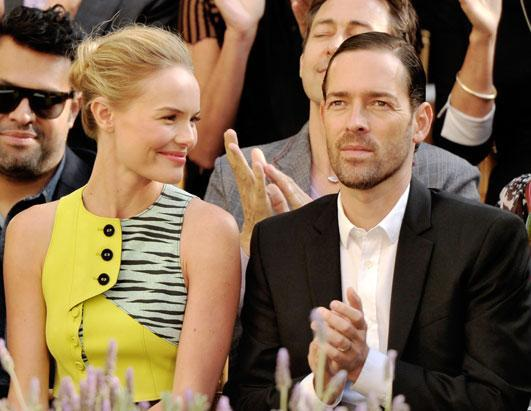 "Kate Bosworth casually announced her engagement to beau Michael Polish. In a travel diary for Vogue.com, the 29-year-old actress wrote, ""On our first day in Seoul, my fiancé, Michael Polish, and I venture out to discover Changdeokgung Palace."" Bosworth was first romantically linked to the 41-year-old Polish, who directed her in the upcoming film ""Big Sur."""