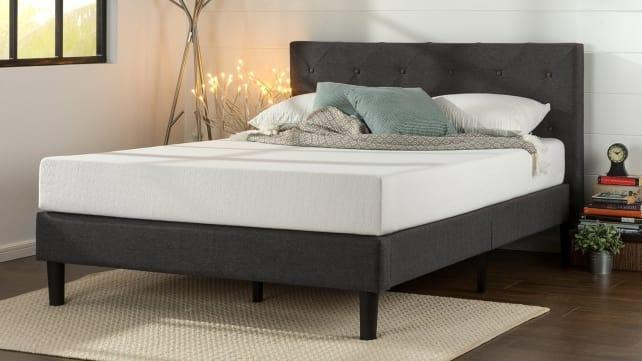 This Zinus mattress was priced at less than $200. The company is among dozens of Chinese mattress companies accused of selling mattresses at prices significantly below their cost of production in the U.S. to gain market share among Americans.