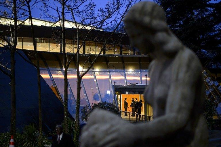 The World Trade Organization (WTO) headquarters are shown January 29, 2013 in Geneva. The WTO is close to chosing its next leader in a final round pitting Brazil against Mexico, with the winner facing the tough task of restoring the clout of global commerce's rule-setting body