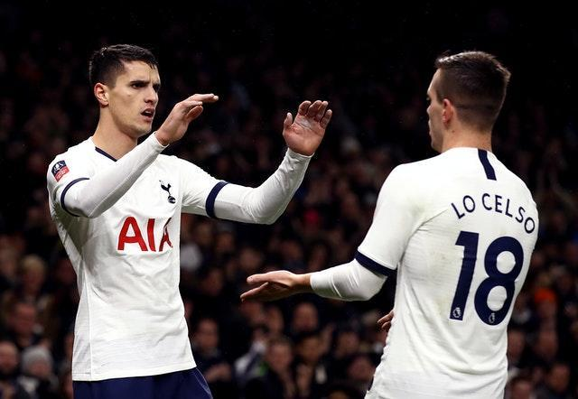 Erik Lamela (left) and Giovani Lo Celso have been among those to have breached coronavirus regulations recently