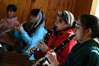 Afghanistan's first all-female orchestra hopes to offer a more positive perspective of the violence-torn country abroad