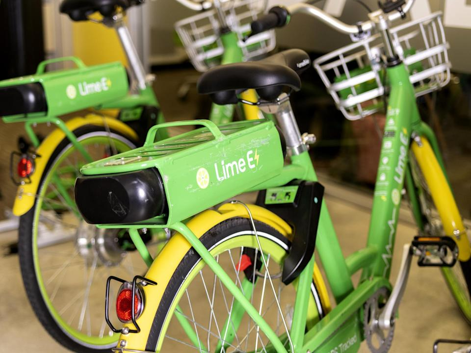 Scooter-Rental Startup Lime Launches E-Bike Service in U.K.
