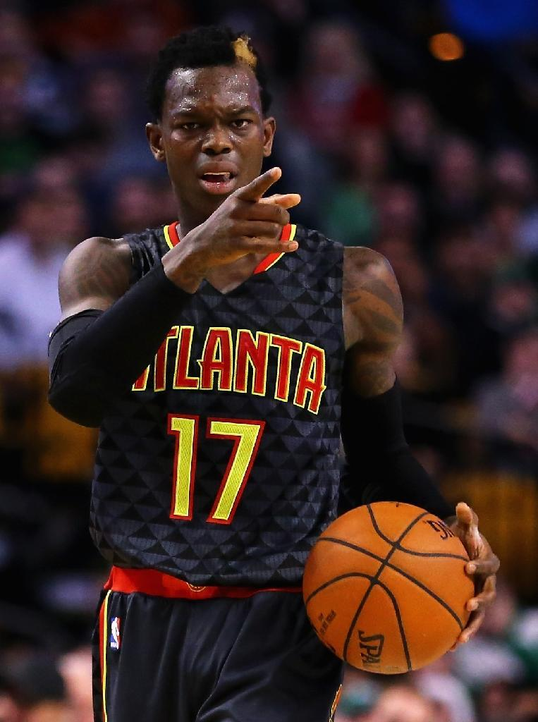 Dennis Schroder of the Atlanta Hawks had 18 points to lead Hawks in double figures as the hosts ripped Portland 106-97 (AFP Photo/Maddie Meyer)