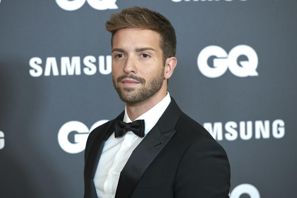 Pablo Alboran attends the GQ Men Of The Year Awards 2019 photocall at The Westin Palace Hotel in Madrid, Spain on Nov 21, 2019 (Photo by Carlos Dafonte/NurPhoto via Getty Images)