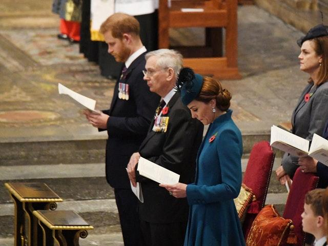 Kate, Harry and the Duke of Gloucester