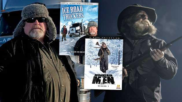 """Ice Road Truckers"" Season 6 and ""Mountain Men"" Season 1 DVD Giveaway"