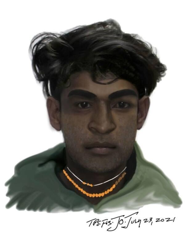Toronto police have released a composite sketch of a man wanted in connection with a sexual assault on July 4, 2021. (Toronto Police Service - image credit)