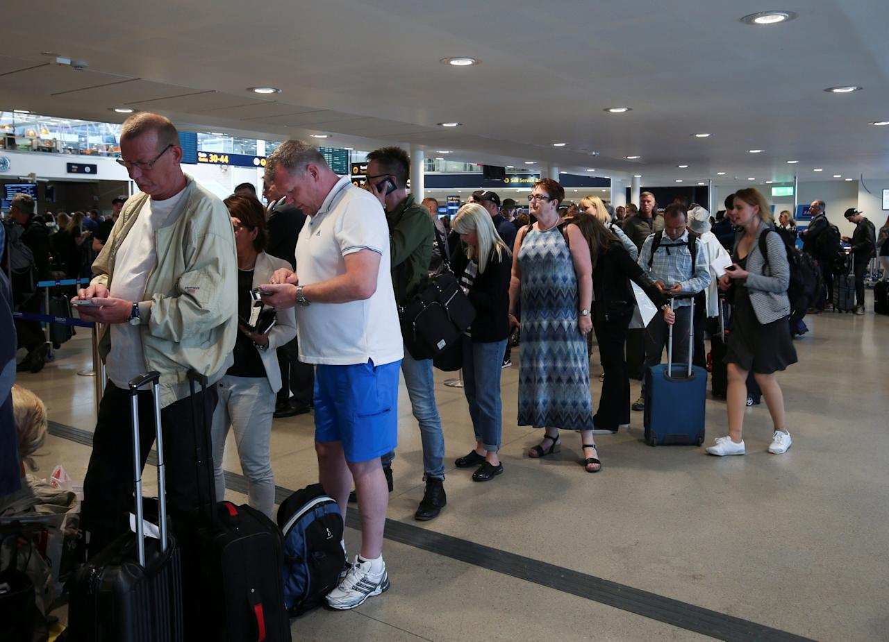 <p>While airlines have been getting some bad press, the satisfaction customers have with them is on the rise overall. (Reuters) </p>