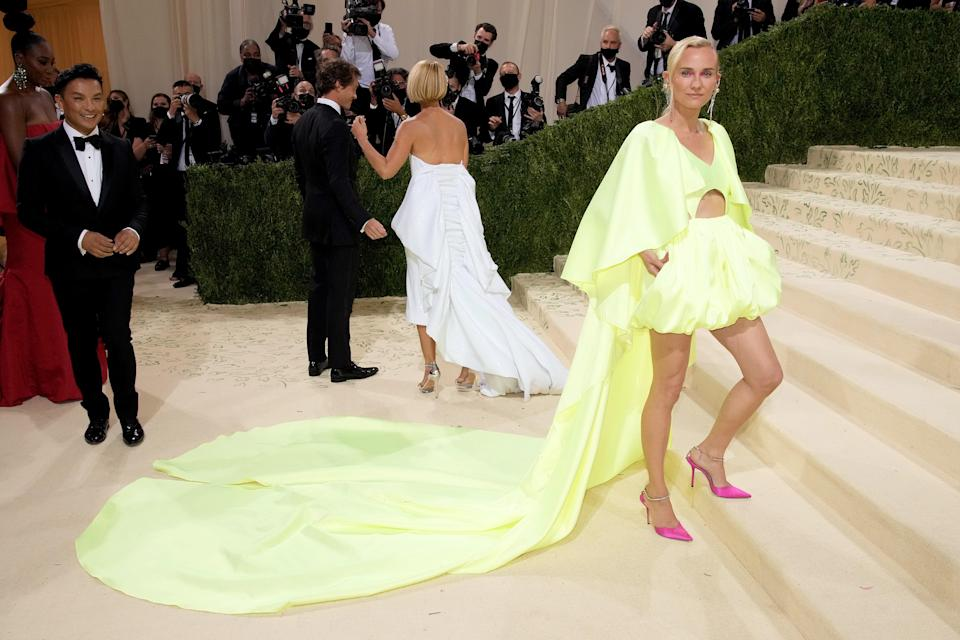 """<h1 class=""""title"""">Diane Kruger The 2021 Met Gala Celebrating In America: A Lexicon Of Fashion - Arrivals</h1><cite class=""""credit"""">Getty</cite>"""