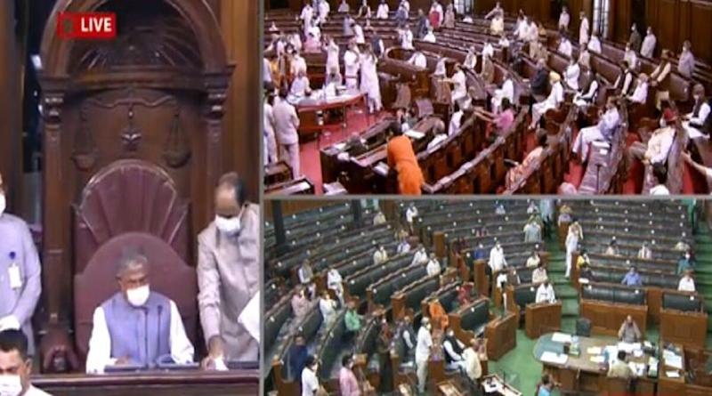 Agricultural Reform Bills: Rajya Sabha Passes 2 Farm Bills Amid Protests by Opposition Leaders And Farmers