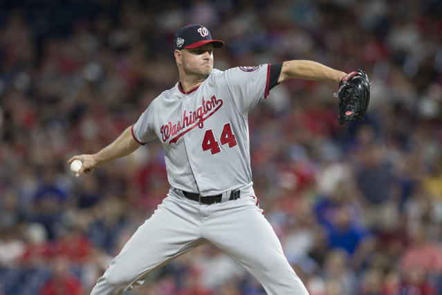 Ryan Madson has been traded to the Dodgers to give their bullpen a boost. (Photo by Mitchell Leff/Getty Images)