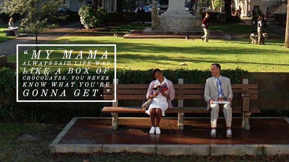 Forrest Gump movie quote