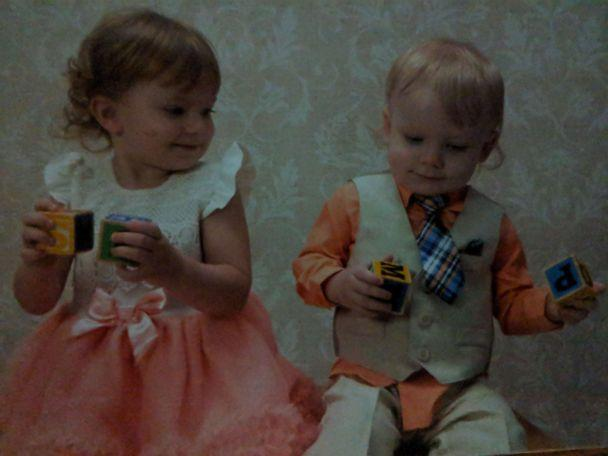 PHOTO: Cash Landers and his older sister, Sierra. (Brooke Eaton)
