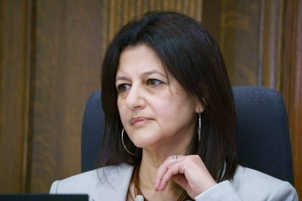 Quebec coroner Géhane Kamel tried to find out why it took so long for health officials to act after discovering problems at the Herron nursing home in Dorval, Que., in late March. She often described this as a 'black hole' in her investigation.  (Ivanoh Demers/Radio-Canada - image credit)