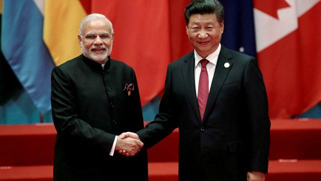 File image of Prime Minister Narendra Modi an Chinese president Xi Jinping. Reuters