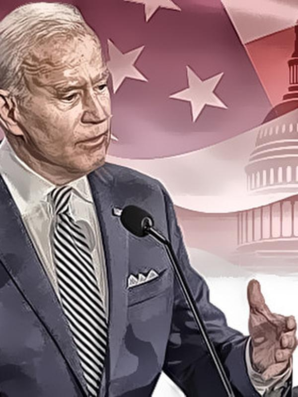 Ilustrasi Pilpres AS 2020, Donald Trump Vs Joe Biden. (Liputan6.com/Abdillah)