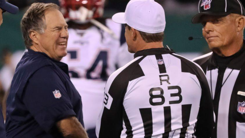 """Belichick exploited """"loophole"""" in NFL rules to run extra time off the clock"""