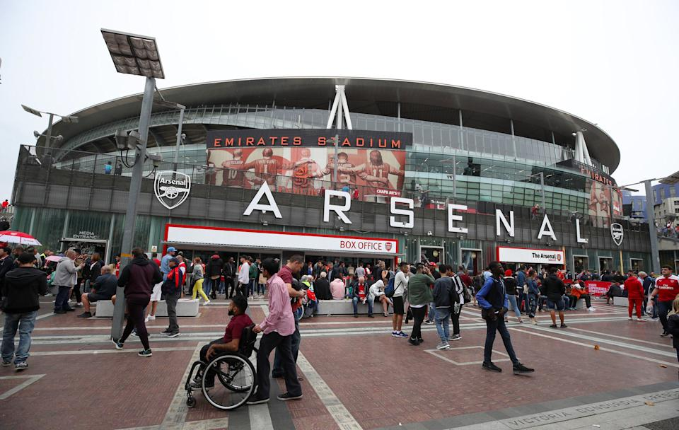 2,000 fans will be allowed to attend home games at ArsenalPA