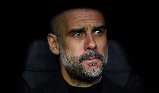 Pep Guardiola Real Madrid Manchester City 02/26/20