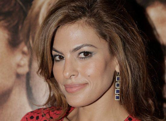"""I became a victim of bullying. I was a gawky, skinny girl with big teeth and that made me an easy target. I had two bullies and they tortured me all through junior high school,"" Eva Mendes tells <a href=""http://www.dailymail.co.uk/home/moslive/article-1348592/Eva-Mendes-I-drifted-acting-ambition-nun.html"" target=""_blank"">UK's Daily Mail</a>."
