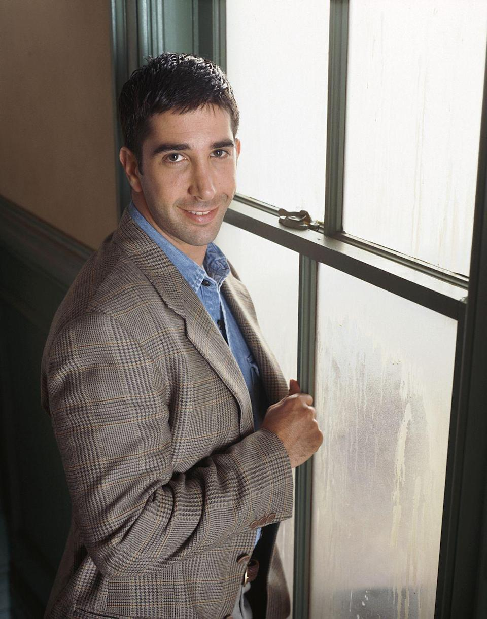 <p>David was the first actor to be cast in the ensemble after he auditioned for an NBC pilot that was rewritten and resulted in <em>Friends.</em></p>